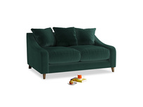 Small Oscar Sofa in Dark green Clever Velvet