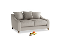 Small Oscar Sofa in Sailcloth grey Clever Woolly Fabric