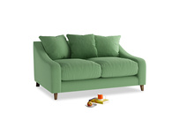 Small Oscar Sofa in Clean green Brushed Cotton
