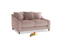 Small Oscar Sofa in Rose quartz Clever Deep Velvet