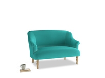 Small Sweetie Sofa in Fiji Clever Velvet