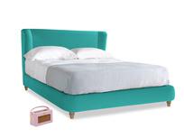 Kingsize Hugger Bed in Fiji Clever Velvet