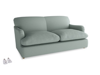 Medium Pudding Sofa Bed in Sea fog Clever Woolly Fabric