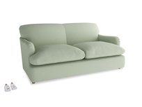 Medium Pudding Sofa Bed in Powder green Clever Linen