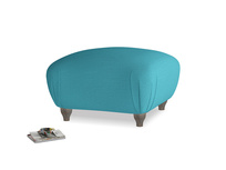 Small square footstool Homebody Footstool in Dragonfly Clever Linen