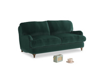 Small Jonesy Sofa in Dark green Clever Velvet