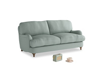 Small Jonesy Sofa in Sea fog Clever Woolly Fabric