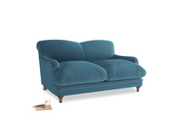 Small Pudding Sofa in Old blue Clever Deep Velvet