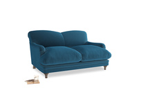 Small Pudding Sofa in Twilight blue Clever Deep Velvet