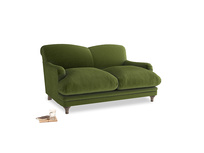 Small Pudding Sofa in Good green Clever Deep Velvet