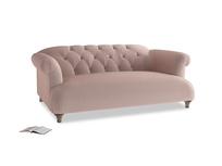 Medium Dixie Sofa in Rose quartz Clever Deep Velvet