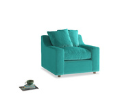 Cloud Armchair in Fiji Clever Velvet