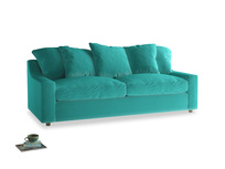 Large Cloud Sofa in Fiji Clever Velvet