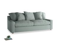 Large Cloud Sofa in Sea fog Clever Woolly Fabric