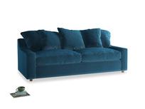 Large Cloud Sofa in Twilight blue Clever Deep Velvet