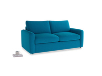 Chatnap Sofa Bed in Bermuda Brushed Cotton with both arms