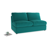 Chatnap Storage Sofa in Indian green Brushed Cotton