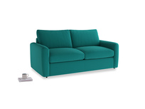 Chatnap Storage Sofa in Indian green Brushed Cotton with both arms