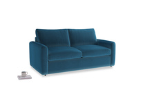 Chatnap Storage Sofa in Twilight blue Clever Deep Velvet with both arms