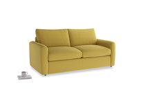 Chatnap Storage Sofa in Maize yellow Brushed Cotton with both arms
