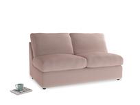 Chatnap Sofa Bed in Rose quartz Clever Deep Velvet