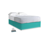 Double Tight Space Storage Bed in Fiji Clever Velvet
