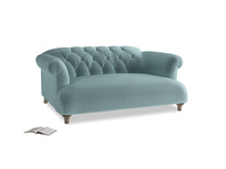 Small Dixie Sofa in Lagoon clever velvet