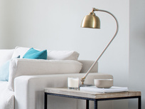 Gaston desk lamp on Postino side table