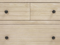 Groover wood chest of drawers