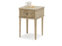 Little Flapper parquet bedside table