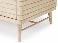 Prime Groover wardrobe grooved wood