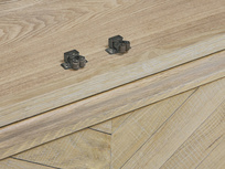 Super Flapper solid oak wood wardrobe