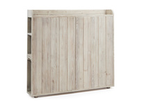Smuggler storage wooden headboard
