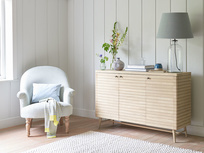 Grand Bubba oak wood sideboard
