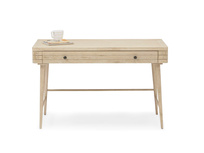 Clever Bubba blonde oak desk