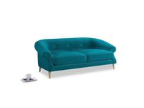 Medium Schnaps Sofa in Pacific Clever Velvet