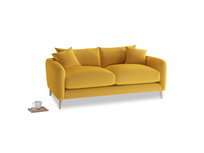 Small Squishmeister Sofa in Pollen Clever Deep Velvet