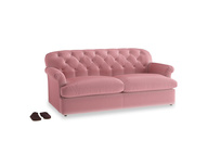 Large Truffle Sofa Bed in Dusty Rose clever velvet