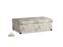 Double Bed in a Bun in Pink vintage rose