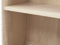 Little Bubba blonde oak wooden shelves