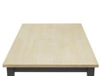 Kernel bandsawn oak dining room table