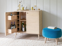 Thirsty Bubba modern wooden drinks cabinet