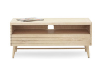 TV Bubba blonde oak wood TV stand