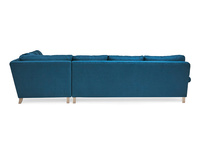 Slowcoach l-shaped corner sofa back detail
