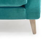 Schnaps tub armchair leg detail