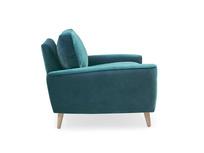 Strudel upholstered armchair side detail