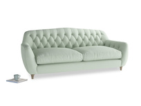 Large Butterbump Sofa in Soft Green Clever Softie