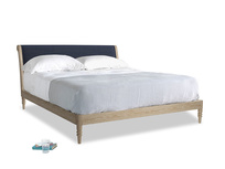 Superking Darcy Bed in Seriously Blue Clever Softie