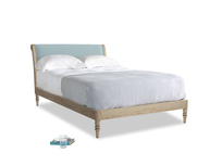 Double Darcy Bed in Powder Blue Clever Softie