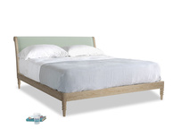 Superking Darcy Bed in Soft Green Clever Softie